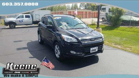 2014 Ford Escape for sale in Keene, NH