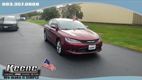 2015 Chrysler 200 for sale in Keene NH