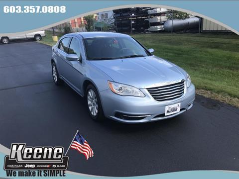 2014 Chrysler 200 for sale in Keene NH