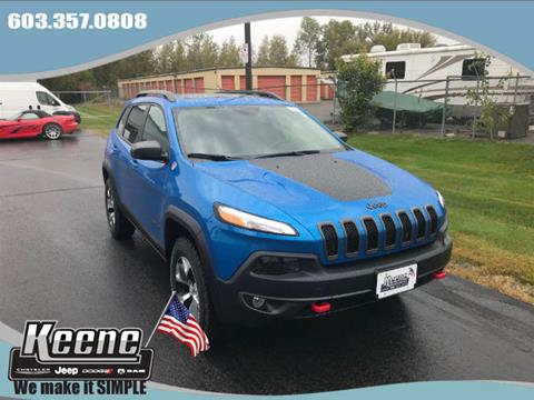 2018 Jeep Cherokee for sale in Keene NH