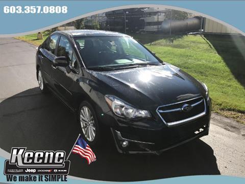 2015 Subaru Impreza for sale in Keene NH