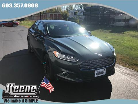 2016 Ford Fusion for sale in Keene, NH