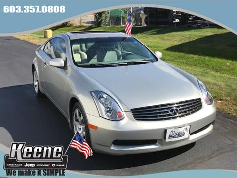 2003 Infiniti G35 for sale in Keene NH