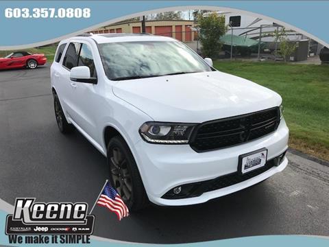 2018 Dodge Durango for sale in Keene, NH