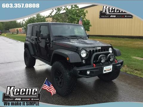 2016 Jeep Wrangler Unlimited for sale in Keene, NH