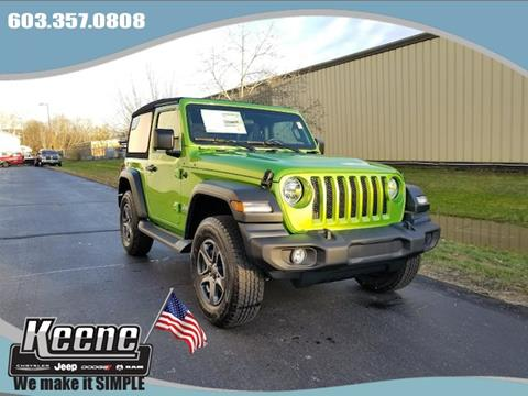 2018 Jeep Wrangler for sale in Keene, NH
