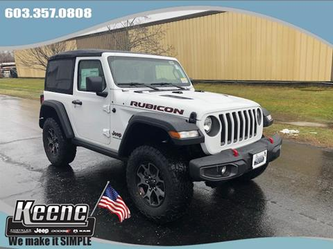 2019 Jeep Wrangler for sale in Keene, NH