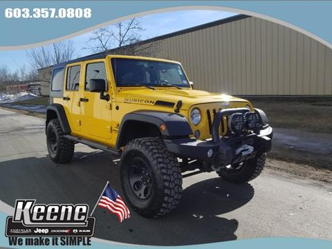 2015 Jeep Wrangler Unlimited for sale in Keene, NH