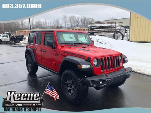 2019 Jeep Wrangler Unlimited for sale in Keene, NH