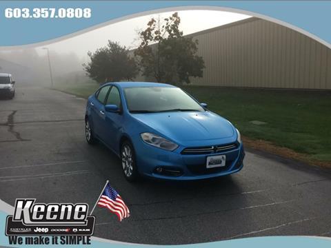 2016 Dodge Dart for sale in Keene NH