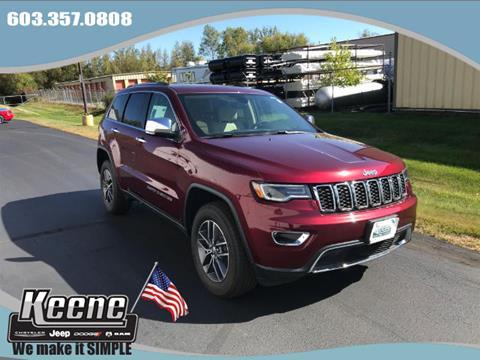 2017 Jeep Grand Cherokee for sale in Keene, NH