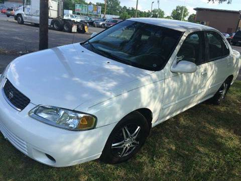 2002 Nissan Sentra for sale at Cleveland Avenue Autoworks in Columbus OH