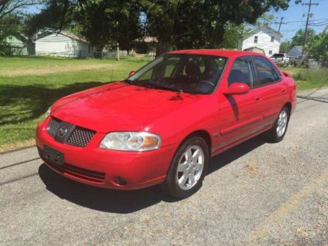 2006 Nissan Sentra for sale at Cleveland Avenue Autoworks in Columbus OH
