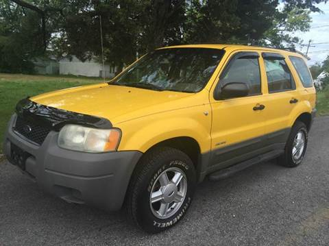 2001 Ford Escape for sale at Cleveland Avenue Autoworks in Columbus OH