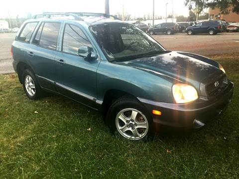 2002 Hyundai Santa Fe for sale at Cleveland Avenue Autoworks in Columbus OH