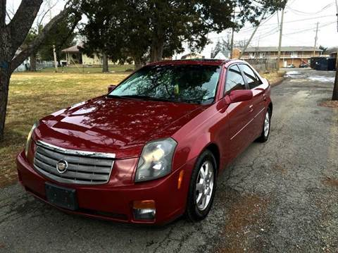 2005 Cadillac CTS for sale at Cleveland Avenue Autoworks in Columbus OH