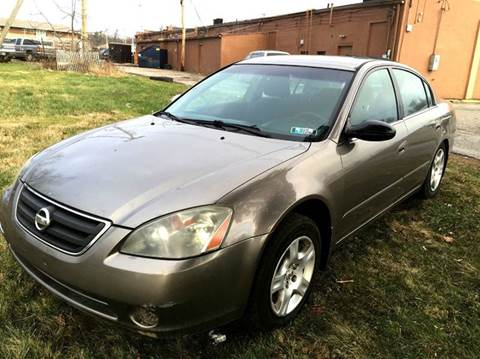2003 Nissan Altima for sale at Cleveland Avenue Autoworks in Columbus OH