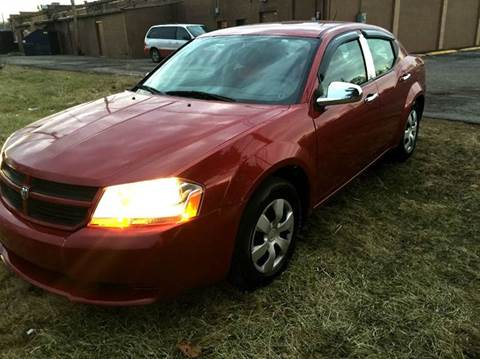 2008 Dodge Avenger for sale at Cleveland Avenue Autoworks in Columbus OH