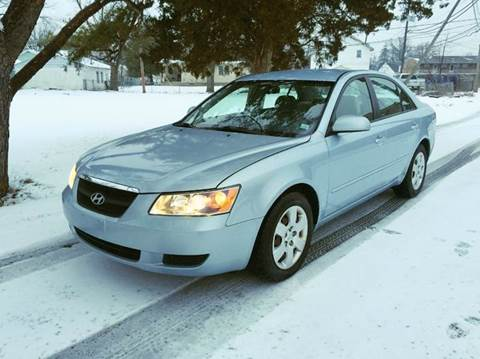 2006 Hyundai Sonata for sale at Cleveland Avenue Autoworks in Columbus OH