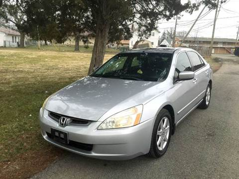2003 Honda Accord for sale at Cleveland Avenue Autoworks in Columbus OH