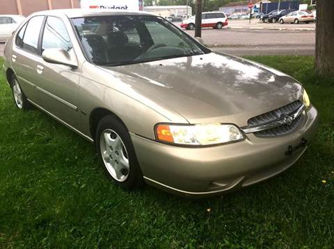 2001 Nissan Altima for sale at Cleveland Avenue Autoworks in Columbus OH