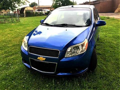2009 Chevrolet Aveo for sale at Cleveland Avenue Autoworks in Columbus OH