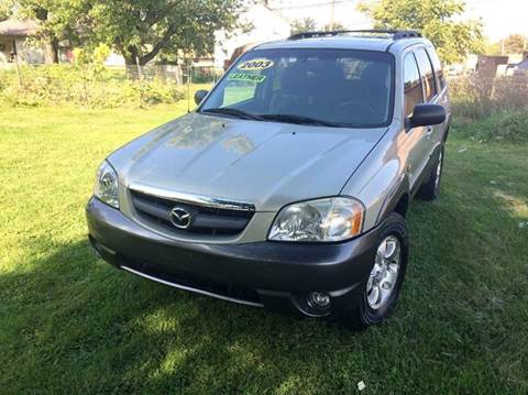 2003 Mazda Tribute for sale at Cleveland Avenue Autoworks in Columbus OH