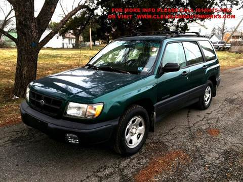2000 Subaru Forester for sale at Cleveland Avenue Autoworks in Columbus OH