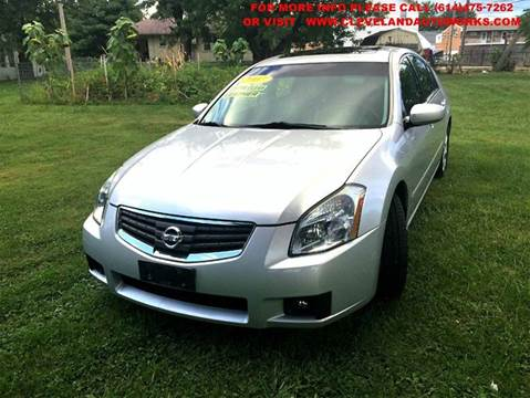 2007 Nissan Maxima for sale at Cleveland Avenue Autoworks in Columbus OH