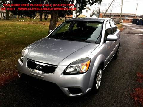 2010 Kia Rio for sale at Cleveland Avenue Autoworks in Columbus OH