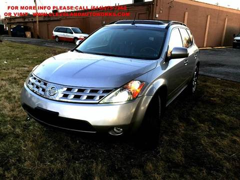 2005 Nissan Murano for sale at Cleveland Avenue Autoworks in Columbus OH
