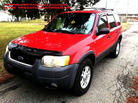2002 Ford Escape for sale at Cleveland Avenue Autoworks in Columbus OH