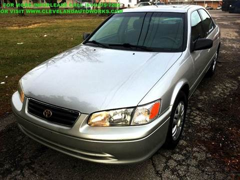 2001 Toyota Camry for sale at Cleveland Avenue Autoworks in Columbus OH