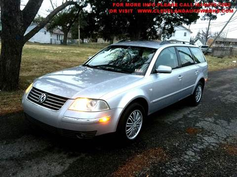 2002 Volkswagen Passat for sale at Cleveland Avenue Autoworks in Columbus OH