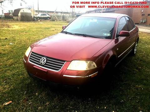 2004 Volkswagen Passat for sale at Cleveland Avenue Autoworks in Columbus OH