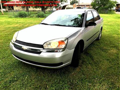 2004 Chevrolet Malibu for sale at Cleveland Avenue Autoworks in Columbus OH