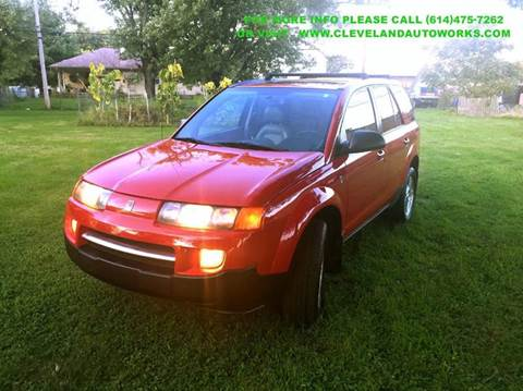2004 Saturn Vue for sale at Cleveland Avenue Autoworks in Columbus OH
