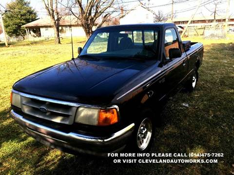 1996 Ford Ranger for sale at Cleveland Avenue Autoworks in Columbus OH