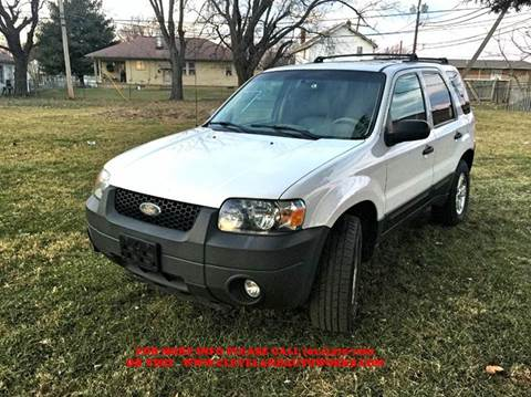 2007 Ford Escape for sale at Cleveland Avenue Autoworks in Columbus OH