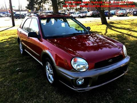 2003 Subaru Impreza for sale at Cleveland Avenue Autoworks in Columbus OH
