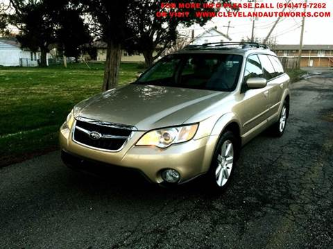 2008 Subaru Outback for sale at Cleveland Avenue Autoworks in Columbus OH