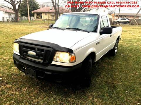 2008 Ford Ranger for sale at Cleveland Avenue Autoworks in Columbus OH