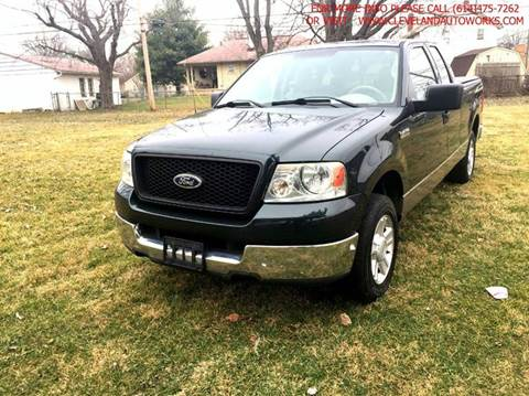 2004 Ford F-150 for sale at Cleveland Avenue Autoworks in Columbus OH