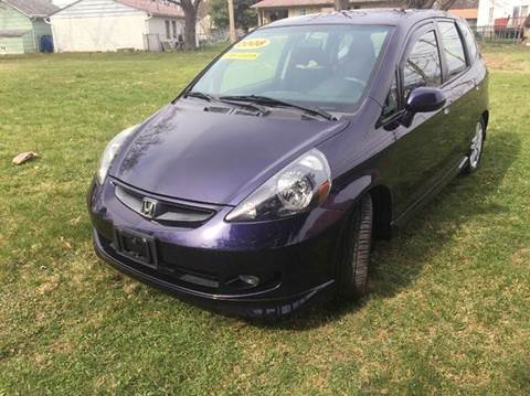 2008 Honda Fit for sale at Cleveland Avenue Autoworks in Columbus OH