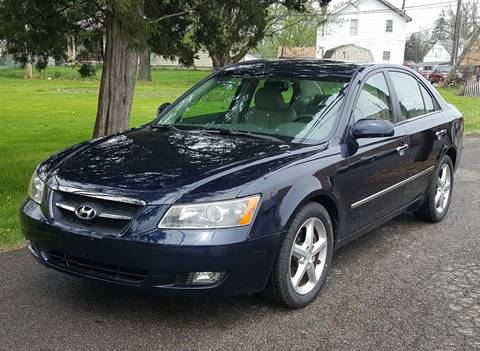 2008 Hyundai Sonata for sale at Cleveland Avenue Autoworks in Columbus OH
