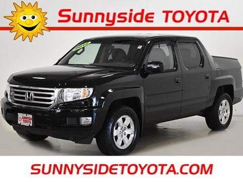 2012 Honda Ridgeline For Sale At Sunnyside Toyota In North Olmsted OH