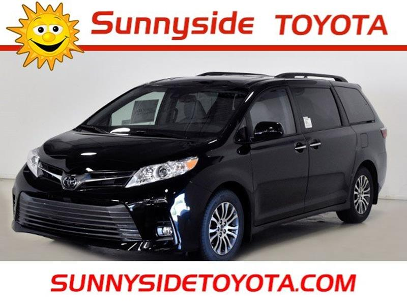 2019 Toyota Sienna For Sale At Sunnyside Toyota In North Olmsted OH