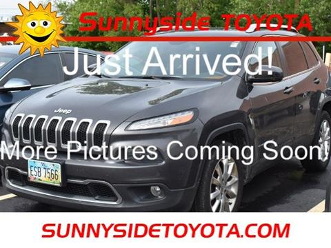 2015 Jeep Cherokee for sale in North Olmsted, OH