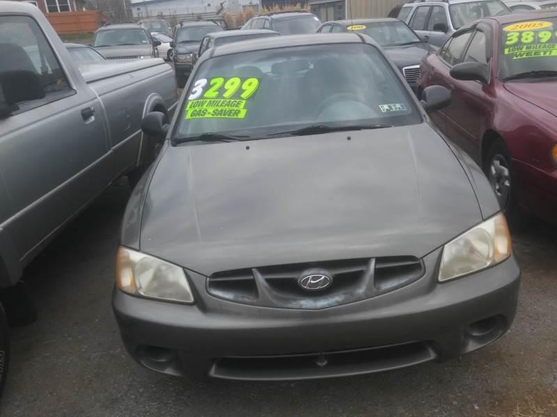 2002 Hyundai Accent GS 2dr Hatchback   Pottstown PA
