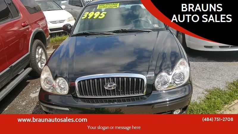 2003 Hyundai Sonata GLS 4dr Sedan   Pottstown PA